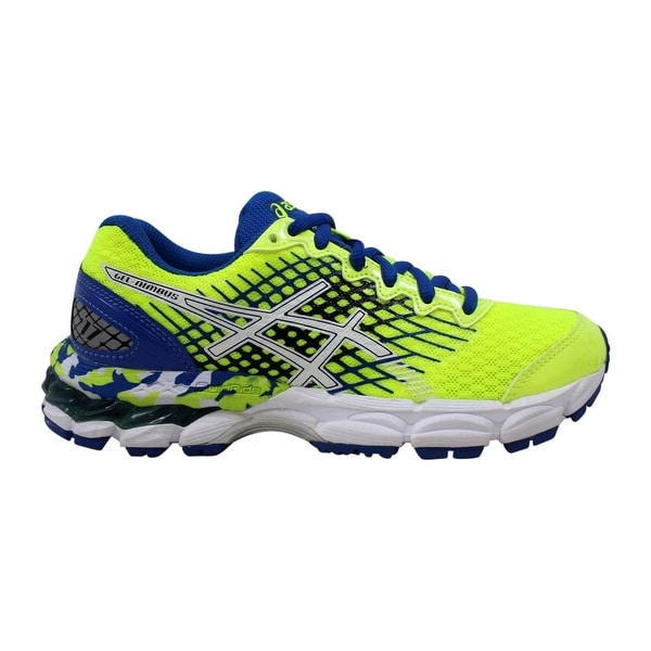newest collection 5ff6f 2cacd Shop Asics Pre-School Gel Nimbus 17 GS Flash Yellow-White ...