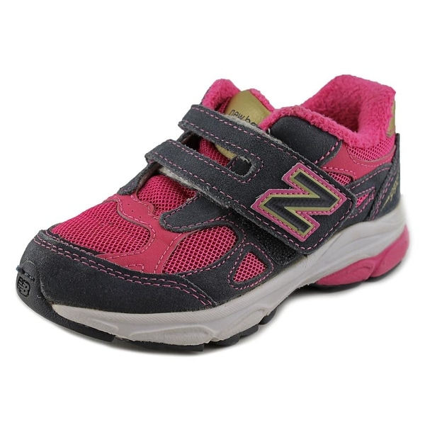 New Balance KV990 Youth W Round Toe Synthetic Pink Sneakers