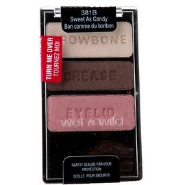 Wet n Wild Color Icon Eyeshadow Trio, Sweet As Candy [381B], 1 ea