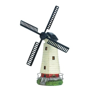 New Arriving Solar Powered Windmill Lighthouse