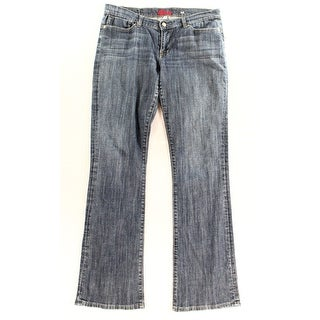 Blue Cult NEW Blue Women's Size 30X33 Boot Cut Kate Seamed Stretch Jeans