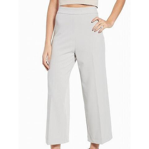 WAYF Gray Womens Size XXL High-Rise Flare Dress Pants Stretch