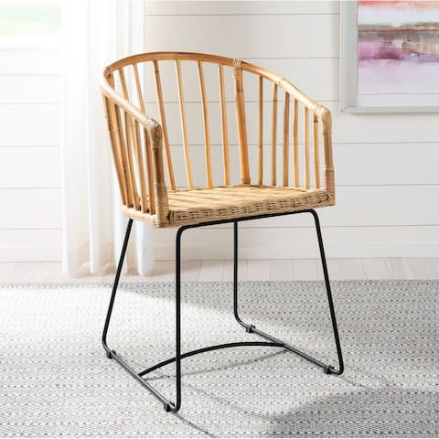 Safavieh Dining Siena Rattan Natural Dining Chair