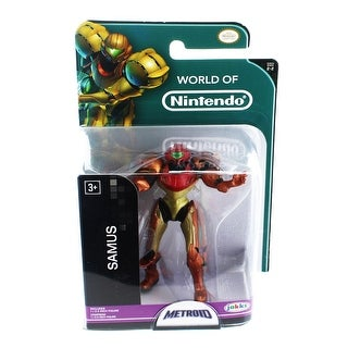 "World of Nintendo 2.5"" Mini Figure: Metroid Samus - multi"