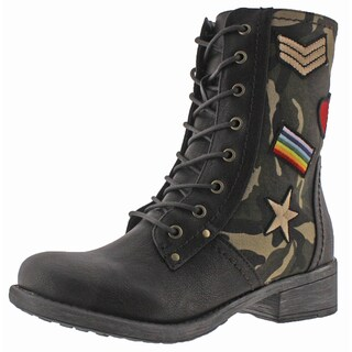 MIA Nate Patched Women's Military-Inspired Boots (More options available)