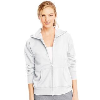 Hanes ComfortSoft EcoSmart Women's Full-Zip Hoodie Sweatshirt - XL