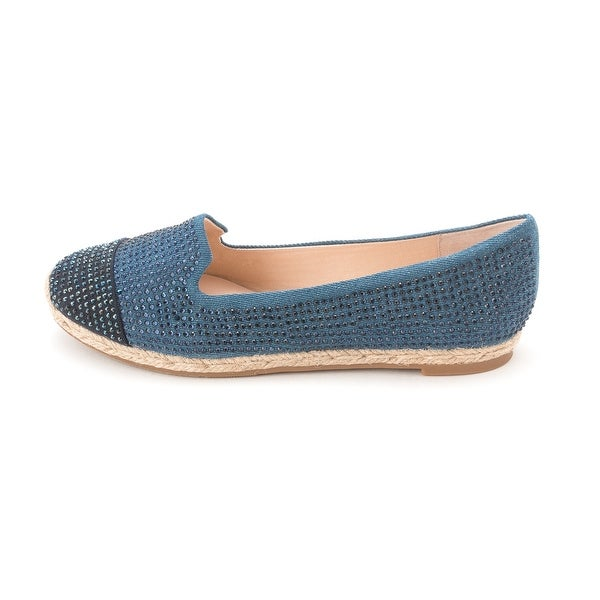 INC International Concepts Women's Steeviee Espadrille Loafer