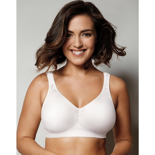 Playtex 18 Hour Seamless Wirefree Bra - Size - 46B - Color - White