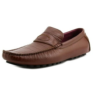 Zanzara Monet Men Square Toe Leather Loafer