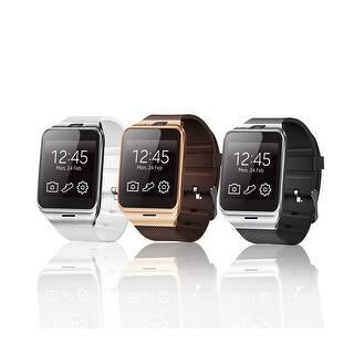 TechComm GV18 Bluetooth and GSM Unlocked Smart Watch 1.3 MP Camera|https://ak1.ostkcdn.com/images/products/is/images/direct/c4d14a2abbc375e7b9c5f1cf8a19cebdfce597ee/TechComm-GV18-Bluetooth-and-GSM-Unlocked-Smartwatch-with-1.3-MP-Camera-Fitness-Tracker-Pedometer-Sleep-Monitor-Loss-Prevention.jpg?impolicy=medium