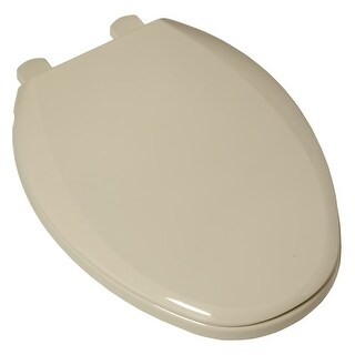 American Standard 5257A.65D Easy Lift & Clean Elongated Toilet Seat with Closed Front and Cover