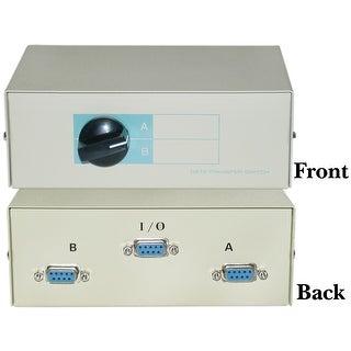 Offex AB 2 Way Switch Box, DB9 Female