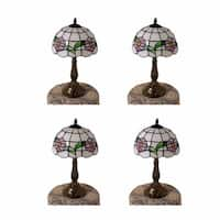 4 Table Lamp Brass  Style Lamp 18.75H Multicolor | Renovator's Supply