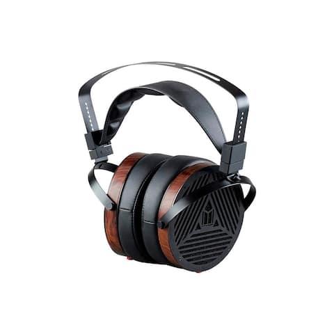 Monolith M1060 Over Ear Planar Magnetic Headphones - Black/Wood W/ 106mm Driver
