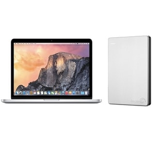 "Apple 13.3"" MacBook Pro Retina + 500GB External Hard Drive"