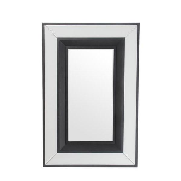 Privilege 88852 47 5 X 3 31 In White Accent Mirror