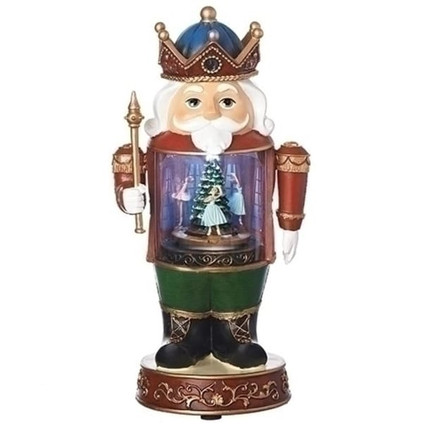 "Pack of 2 Vibrantly Colored Led Nutcracker Christmas Decoration 12.25"" - multi"