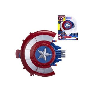 Avengers Captain America Blaster Reveal Shield