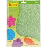 Makin's Clay Texture Sheet Sets 4/Pkg-Floral