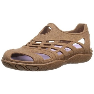 Barefooters Womens Kilkee Rubber Cut-Out Slip-On Shoes