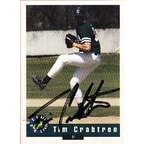Tim Crabtree Toronto Blue Jays 1992 Classic Best Autographed Card  Minor League Card  This item com
