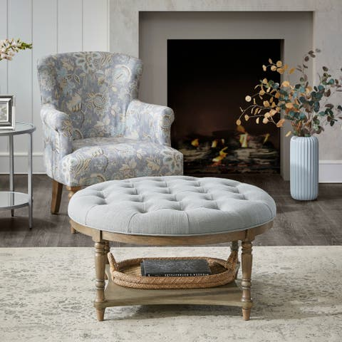 Cedric Accent Ottoman by Martha Stewart