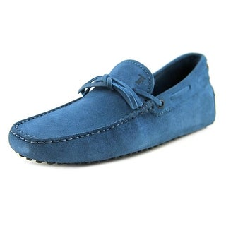 Tod's New Laccetto Occh New Gommini 122 Suede Moccasins