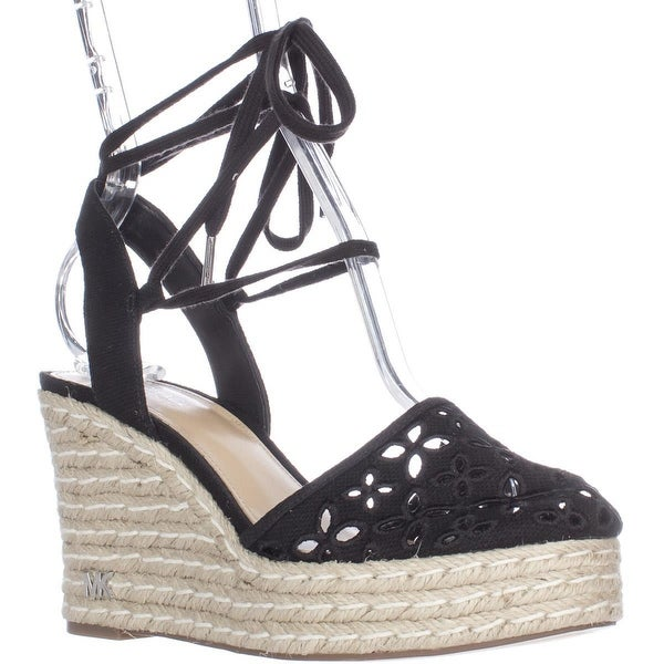 001b44fc707 Shop MICHAEL Michael Kors Darci Closed Toe Lace Up Wedge Espadrilles ...