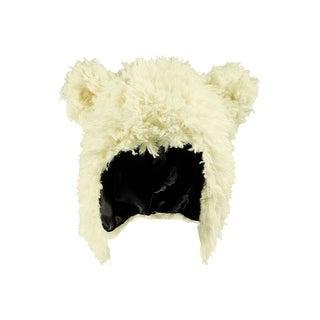 Child White Bear Hat