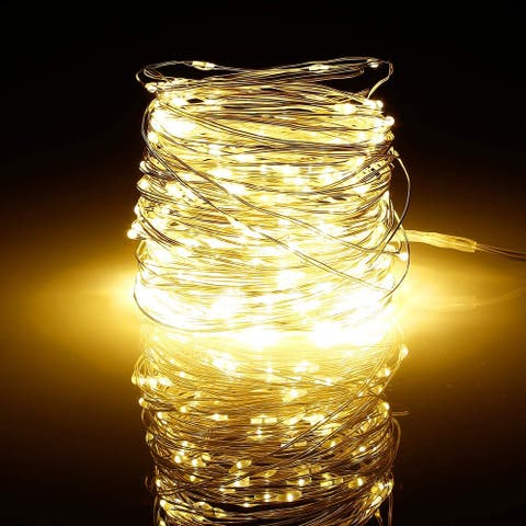 66ft 200LEDs Dimmable Copper String Lights, Waterproof