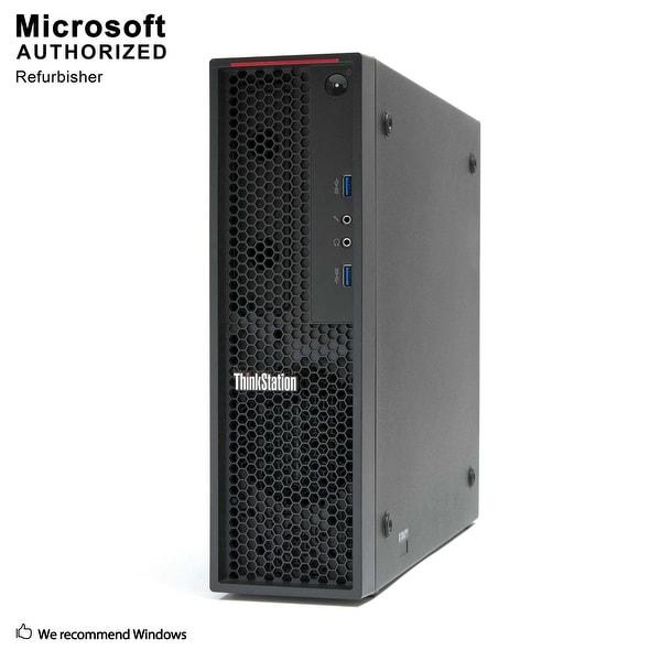 Lenovo P300 SFF Intel i7 4790 3.60GHz, 16GB RAM, 512GB SSD Radeon HD 7570 WIFI, BT 4.0, HDMI Adapter, W10P64(EN/ES)-Refurbished