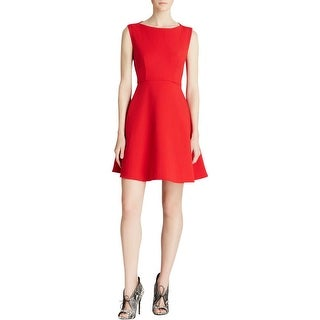 French Connection Womens Cocktail Dress Cut-Out Sleeveless