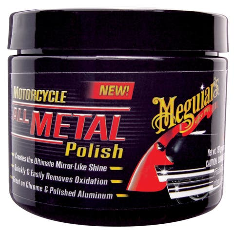 Meguiars Motorcycle Metal Polish - MC20406