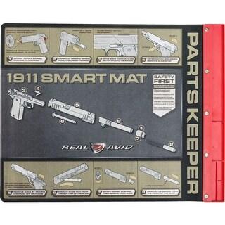 Real avid av1911sm real avid smart mat 1911 w/ parts keeper 19x16 neoprene