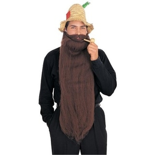 Rubie's Mens Halloween Party Costume Beard & Mustache Kit - o/s