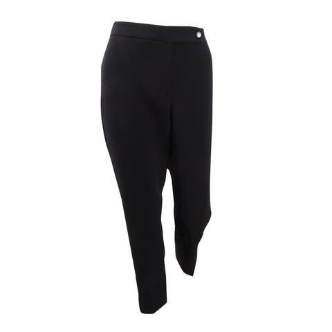 Tahari ASL Women's Extended-Tab Pants