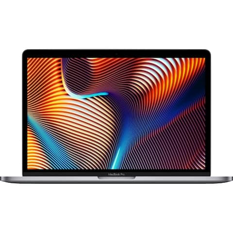 Apple MacBook Pro 13.3-inch 2019 with Touch Bar MUHP2LL/A, Intel Core i5, 256GB 8GB RAM - Space Gray (Certified Refurbished)