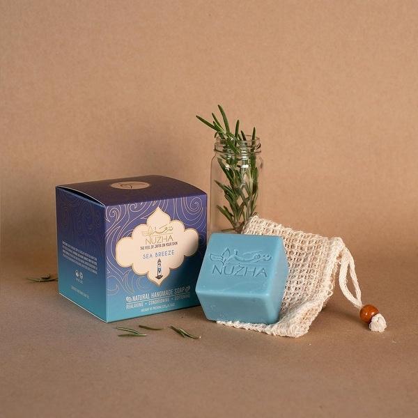 SEA BREEZE SOAP & NATURAL LOOFA Organic Vegan Handmade Soap Cruelty Free. Opens flyout.