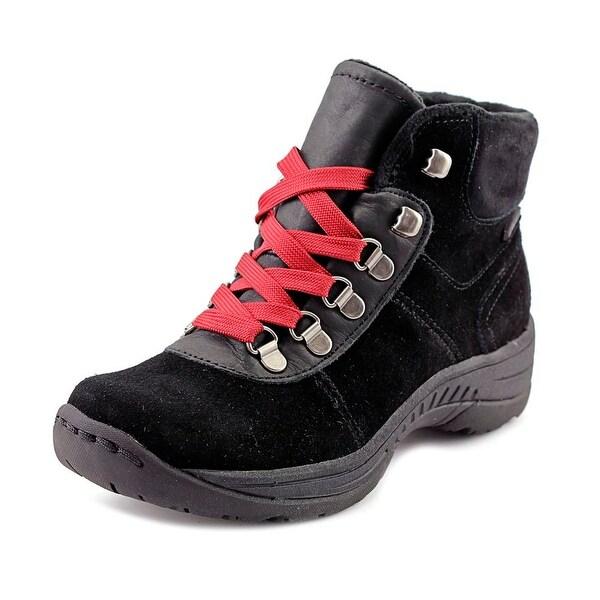 Baretraps Rosie Women Round Toe Suede Black Snow Boot