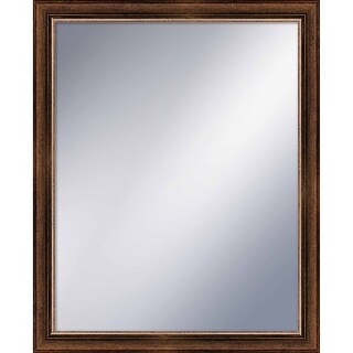 """PTM Images 5-1206 32"""" X 26"""" Rectangular Mirror With Gold Frame"""