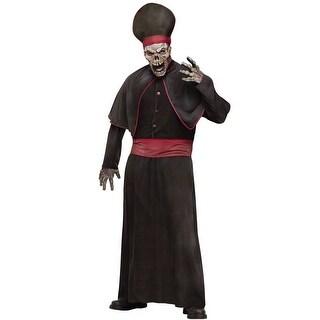 Fun World Zombie High Priest Adult Costume - Black - Standard