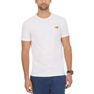 Nautica Mens T-Shirt Graphic Print - XL