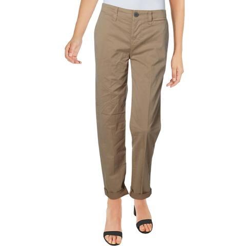 J Brand Womens Inez Chino Pants Mid-Rise Every Day