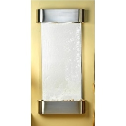 Adagio Cascade Springs Wall Fountain Silver Mirror