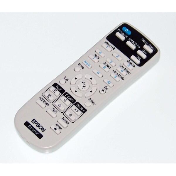 Epson Remote Control Originally Shipped With: PowerLite 975W, 2165W, 2040, 2065