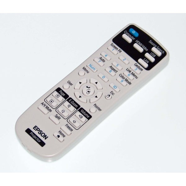 OEM Epson Remote Control Originally Shipped With: PowerLite Home Cinema 1450