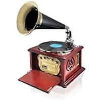 Vintage Retro Classic Style Bluetooth Turntable Phonograph Speaker