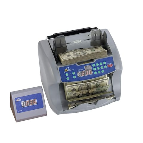 Royal Sovereign Front Loading Cash Counter with Dual Counterfeit Protection (RBC-1003)