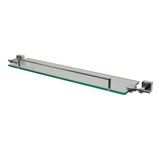 """Ucore 25"""" Glass Shelf With Mounting Hardware"""