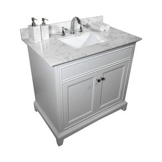 Link to TiramisuBest 31''x22''bathroom vanity tops with sink and back splash Similar Items in Bathroom Furniture